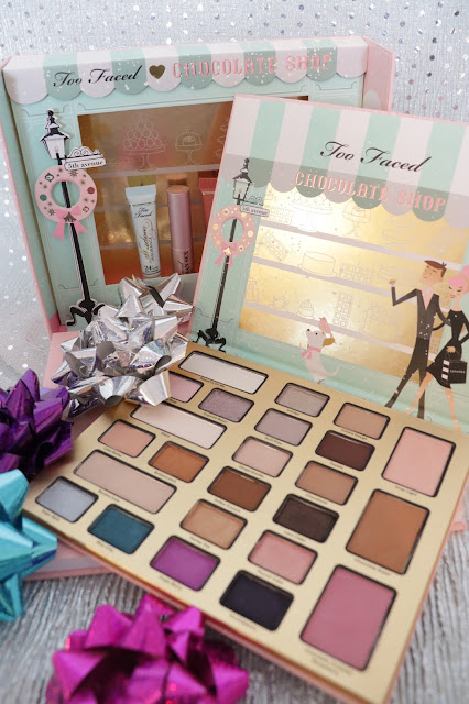 too faced the chocolate shop holiday 2016