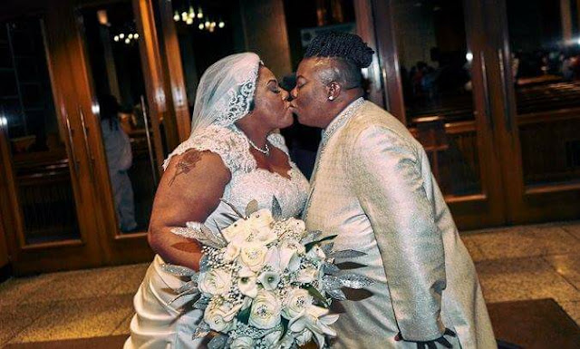 Two Female Pastors Wed,