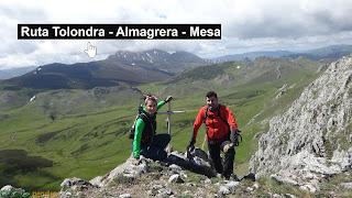 Ruta a Peña Tolondra - Almagrera - Mesa