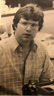 Me at my 1st Newspaper Job (1974)