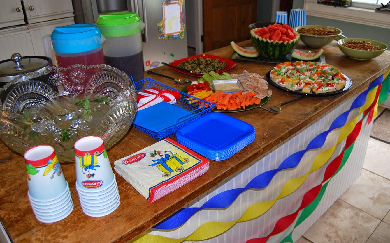 Ecoleeko Richard Scarry Diy Birthday Party Cake Food