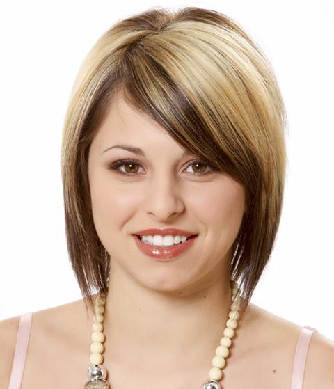 gambar model rambut pendek wanita gemuk
