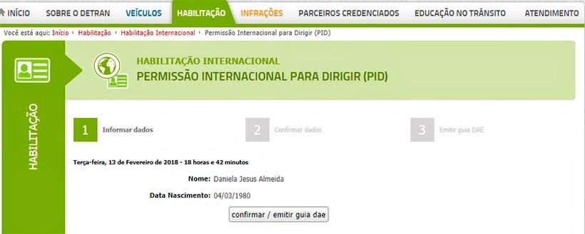Como tirar Permissão Internacional para Dirigir em Minas Gerais