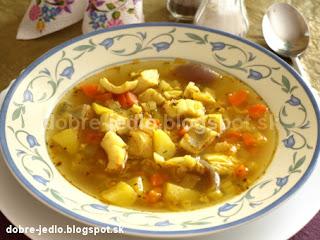 Škandinávska rybacia polievka - recepty