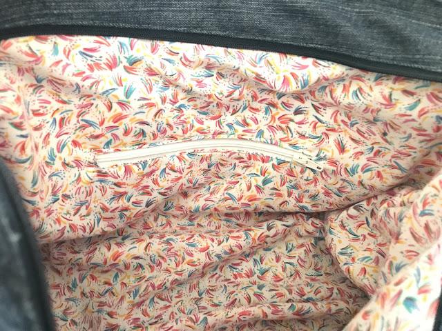 sac jean recyclé