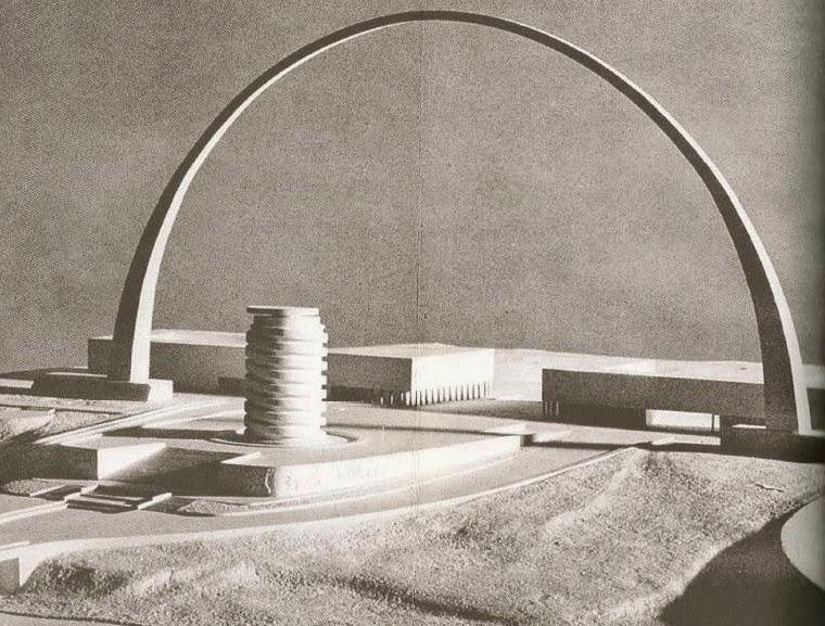 Quartiere Europa (Eur) a Roma, Italia | Marcello Piacentini | Arco monumentale | 1937-1940