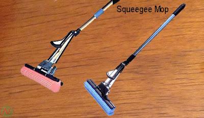 Squeegee mop