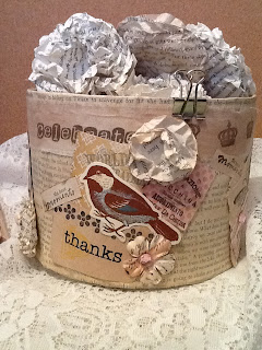 The Altered Book Playground: Weekend Project: shabby chic ...