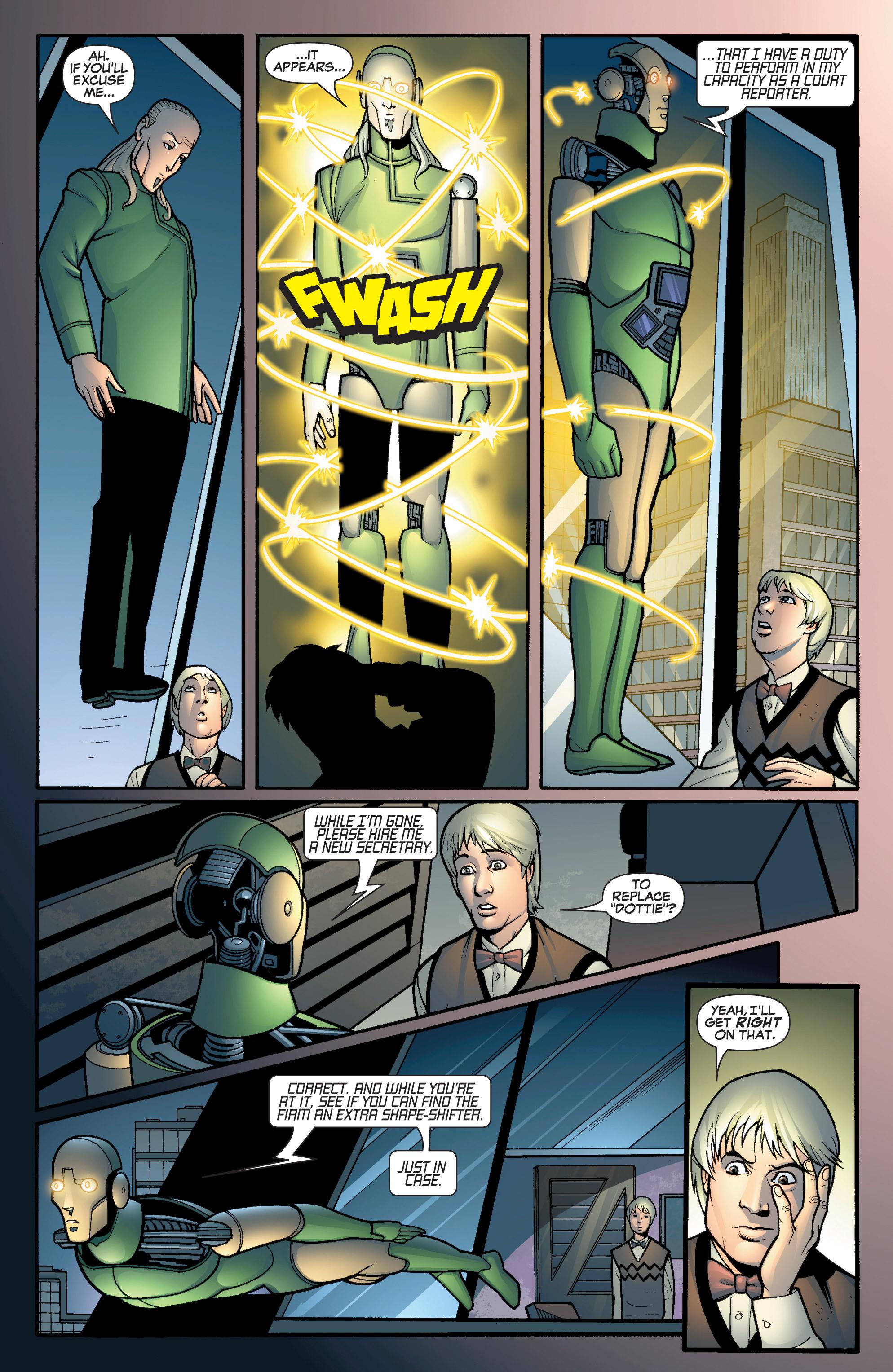 Read online She-Hulk (2005) comic -  Issue #12 - 5