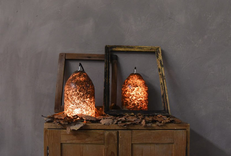 LAAB luce e foglie di Jasmin Castagnaro