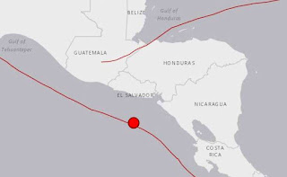 Magnitude 7 offshore quake shakes Central America
