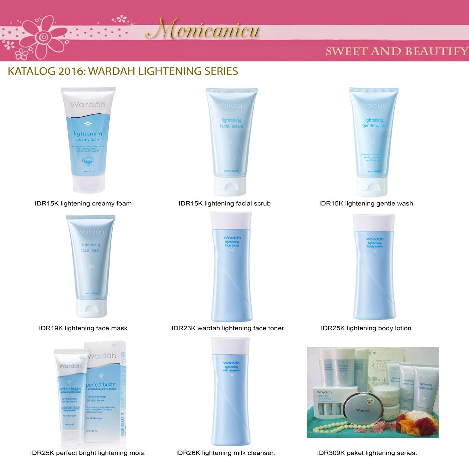 Katalog Wardah Lightening Series Monicanicu Creamy Foam