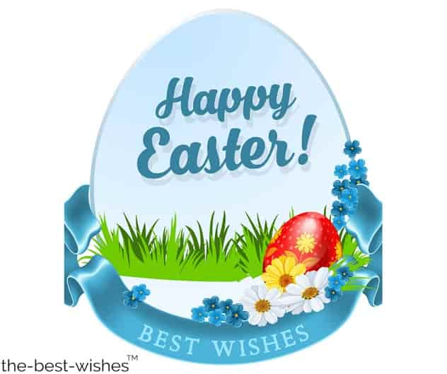 best wishes for happy easter