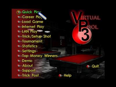 超擬真撞球3(Virtual Pool Hall)綠色免安裝硬碟版下載,超真實的3D立體撞球遊戲!