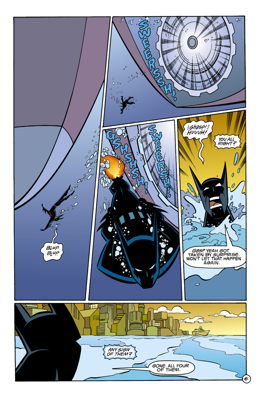 Batman Beyond [II] Issue #4 #4 - English 7