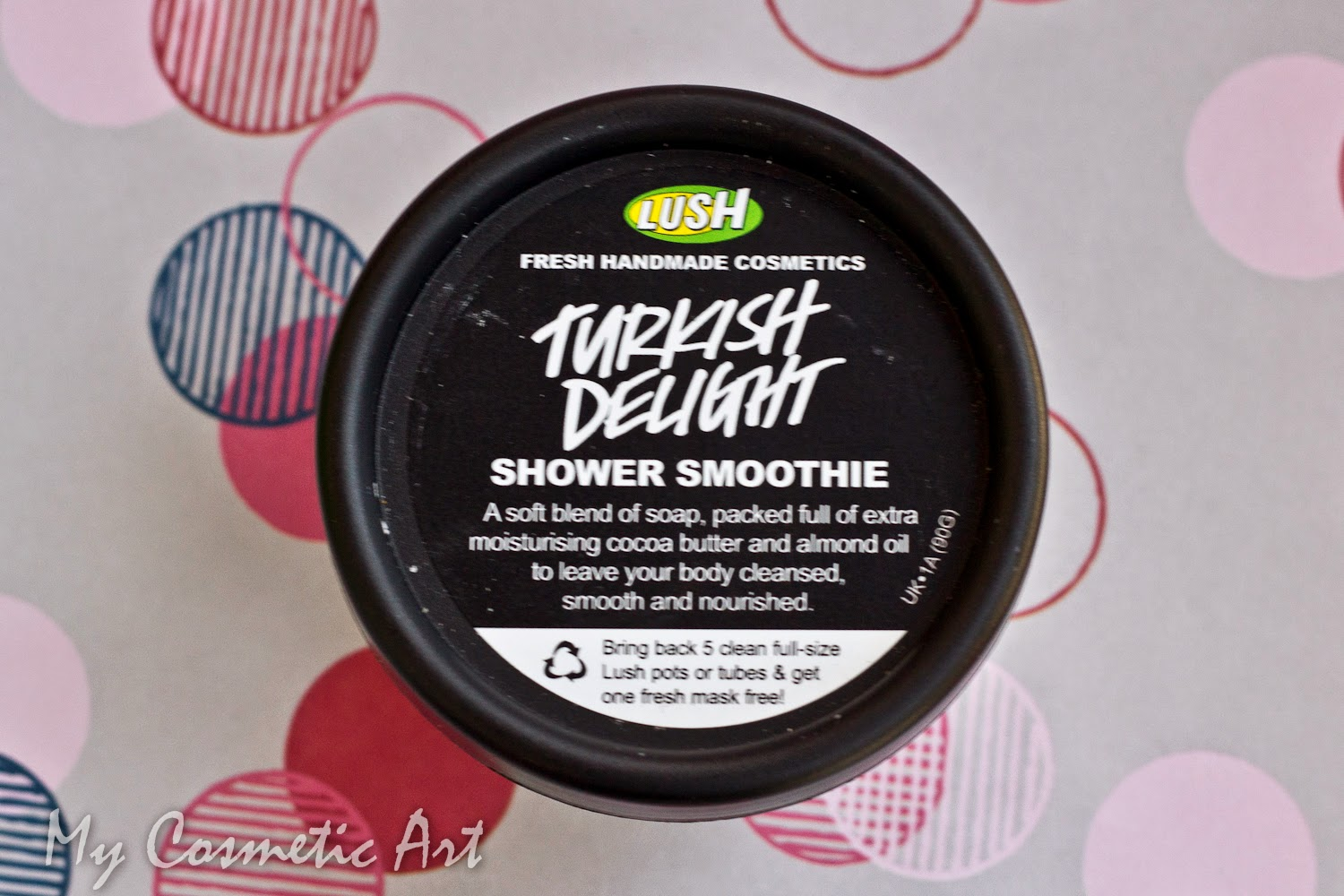Turkish Delight de Lush jabón en crema shower smoothie