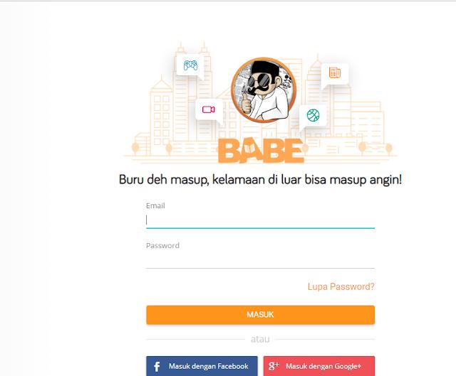 Cara Daftar Penulis Situs Babe News 100% Berhasil