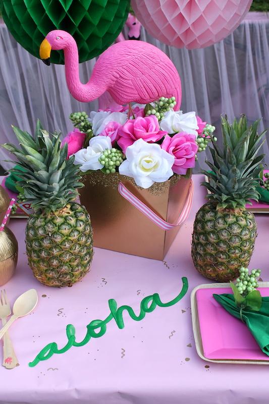 Let S Flamingle Luau Summer Party Ideas Laura S Little