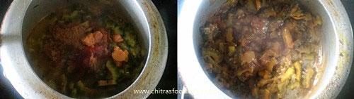 bitter gourd masala curry