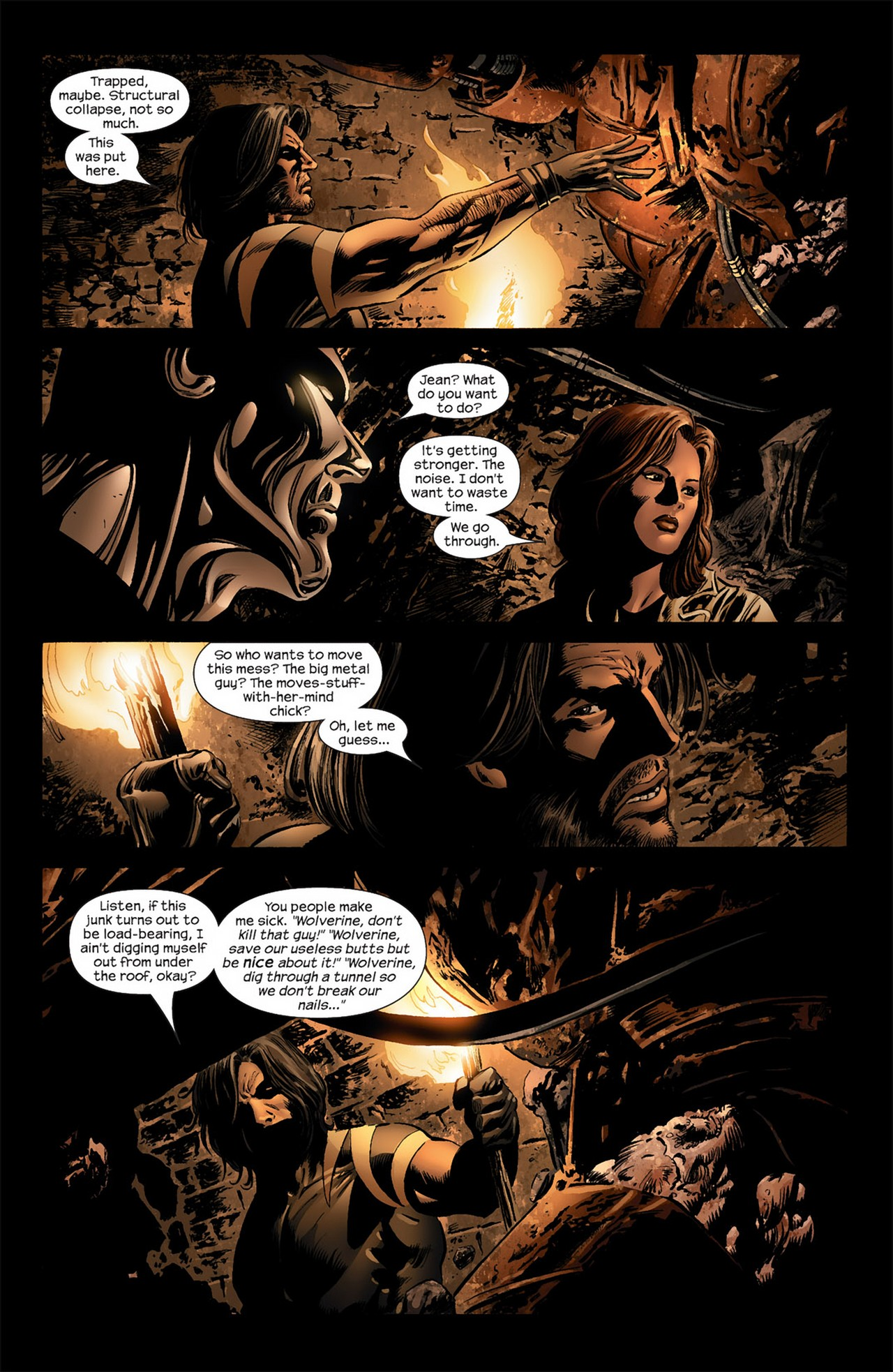 Read online Ultimate Nightmare comic -  Issue #3 - 18