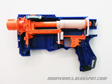 Nerf N-Strike Elite Retaliator - Mod Guide! - Modifications