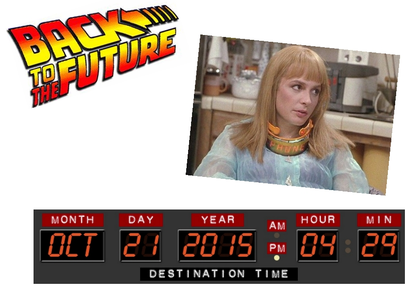 Rhonda's Escape: Back To The Future Day