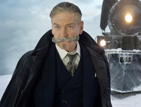 Hércules Poirot (Kenneth Branagh) en Asesinato en el Orient Express - Cine de Escritor