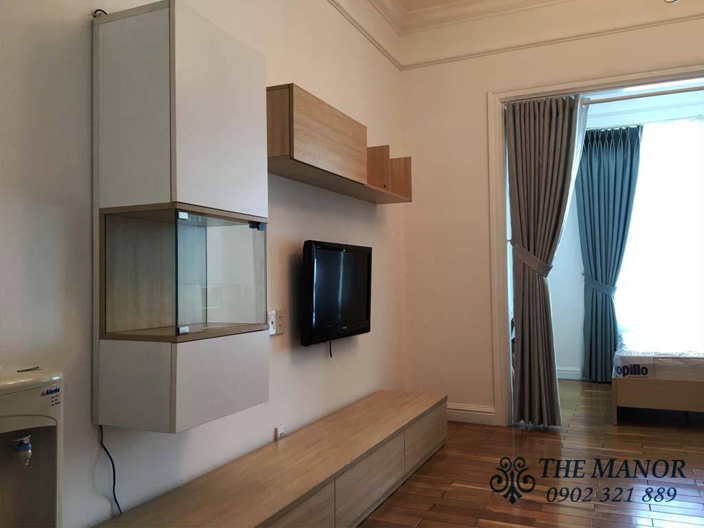 Manor Bình Thạnh cho thuê studio 36m2 giá rẻ - hình 4