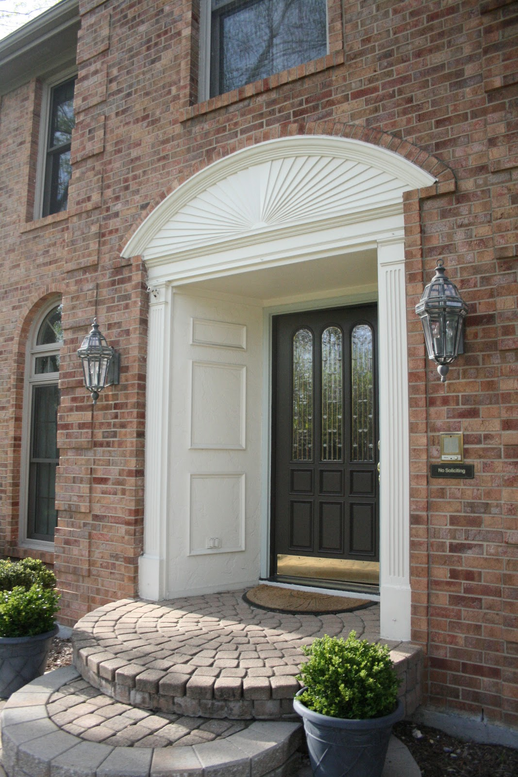Monograms 'n Mud: Front Door Reveal & Tips