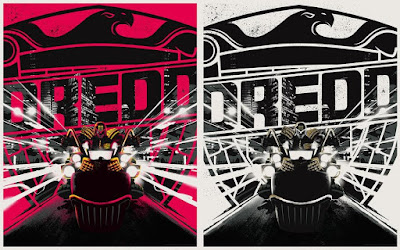 2000 AD 40 Years of Thrill-Power Festival Exclusive Judge Dredd Screen Print by Matt Taylor x Vice Press - Regular & Variant Editions