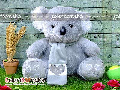 Boneka Koala Syal Besar