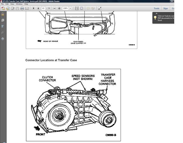 ford ranger repair      ford ranger transmission transfercase