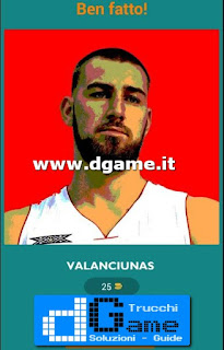 Soluzioni Guess The Basketball Player livello 50
