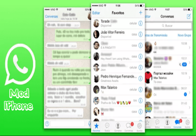 Cara  Download WhatsApp Mod Iphone For Android Versi Terbaru 2018