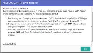 Inilah Jadwal Pre Test (Tes Awal) SIM PKB 2017