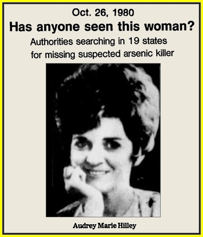 Unknown Gender History: Audrey Marie Hilley, Alabama Escape Artist ...