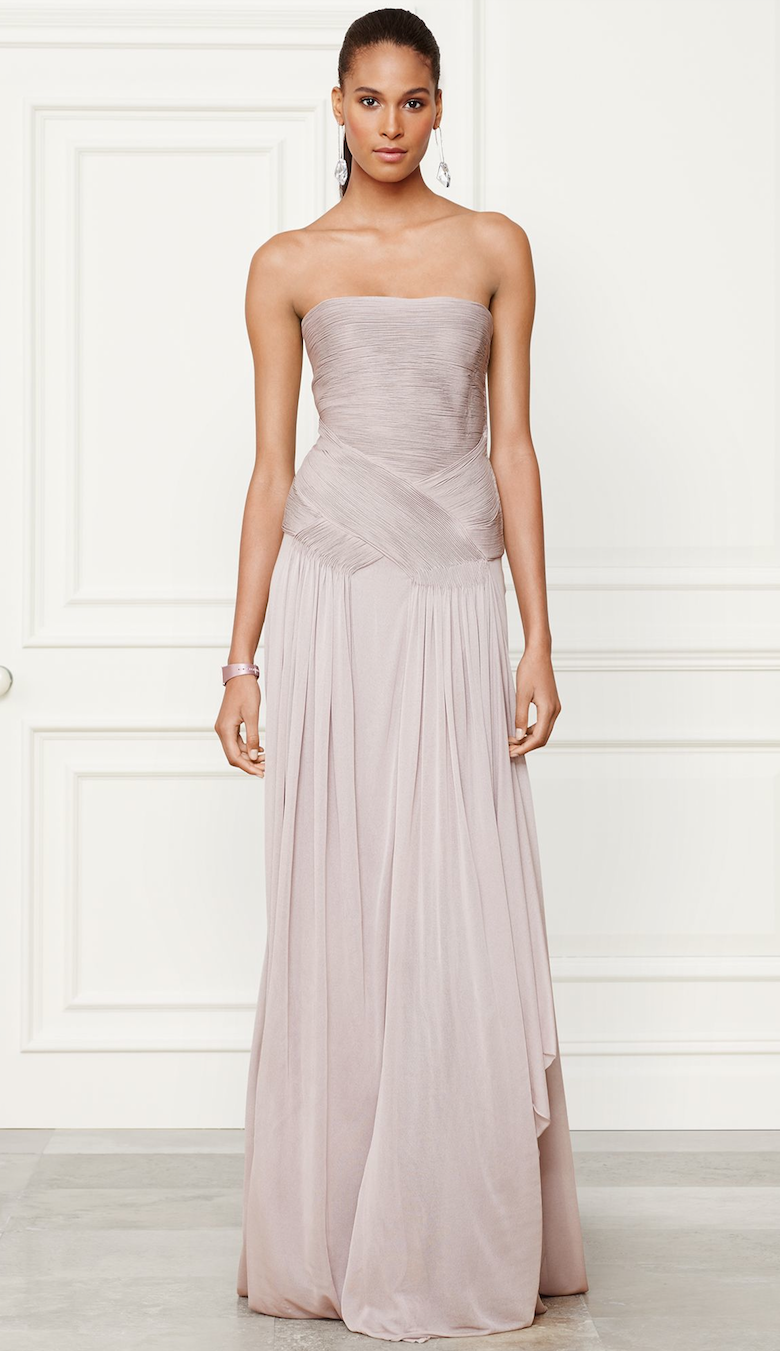 Ralph Lauren Fall 2014 Collection Francina Evening Gown