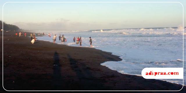 Pantai Baru kala Libur Idul Fitri 1439 H | adipraa.com