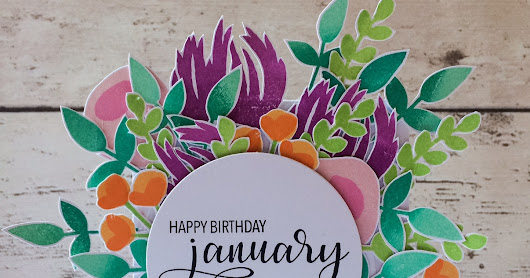 A Floral Birthday (if your name is January!)