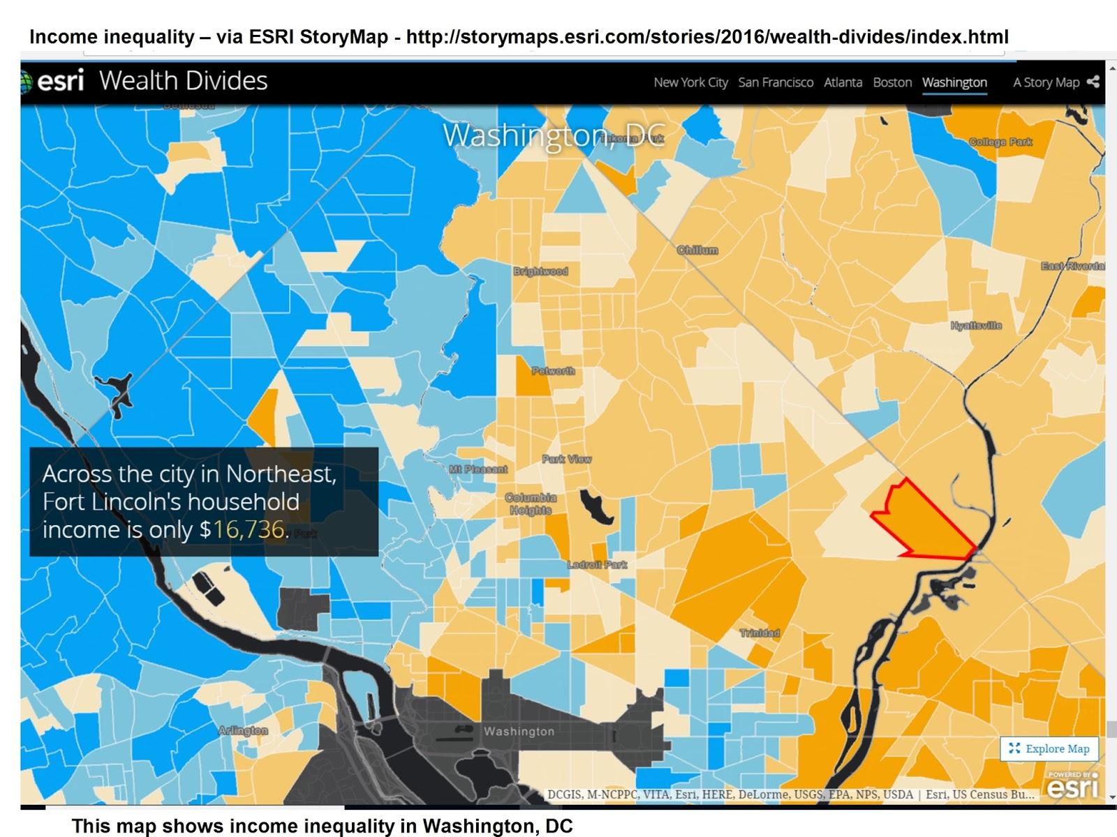 Tutor Mentor Institute LLC Rich Neighborhood Poor Neighborhood - Chicago map new york