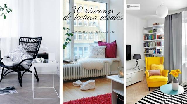 30 rincones de lectura que querrás tener en tu hogar