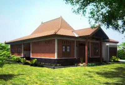 bentuk rumah sederhana di jawa