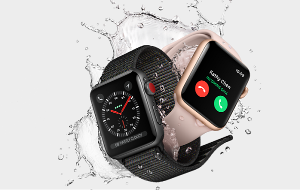 Apple Watch Series 3 (GPS) and Apple Watch Series 3 (GPS + Cellular) announced