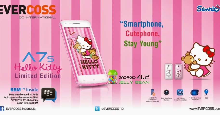 FIRMWARE EVERCOSS A7S HELLO KITTY V04 FULL BACKUP BY ARH