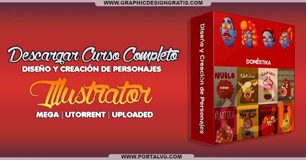 Curso Completo Illustrator: Diseño y Creación de personajes | GRATIS  | DESCARGA