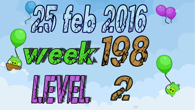 Angry Birds Friends Tournament Week 198 level 2