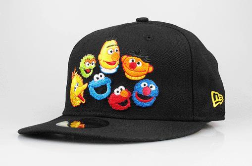 07fb0b2da2e Sesame Street New Era Multi-Muppet 5950 Fitted Hat