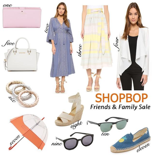 Shopbop Friends and Family Sale; Shopping; Shopbop sale; Sale picks