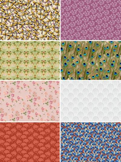 Обои Цветы, паттерн, pattern, seamless, Floral, бесшовный картинки ... | 537x400
